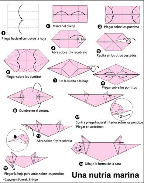 otter origami origami otter tutorial origami handmade