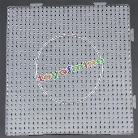 perler bead pegboard large square clear perler fuse pegboard children s