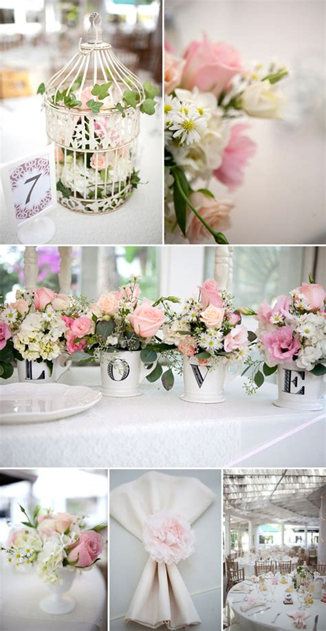 shabby chic weddings shabby chic garden wedding