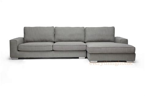 grey sectional sofa with chaise new modern gray fabric sectional sofa chaise grey