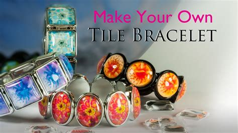 make your own jewelry kit make your own tile bracelet glass tile bracelet jewelry