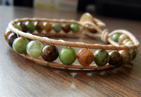 how to make a beaded wrap bracelet how to make wrapped leather bracelets rings and things