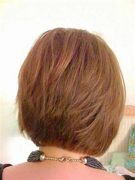 views of back of medium hairstyles short layered bob hairstyles back view hairstyles ideas