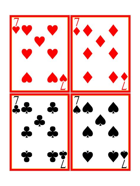 card for free to print play cards pictures cliparts co