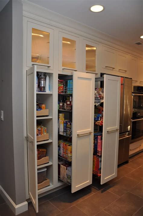 kitchen closet pantry ideas pull out pantries this homeowner likes the pull outs