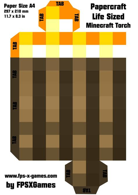 mincraft paper craft pin papercraft minecraft picture to