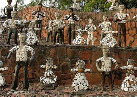 rock garden nek chand nek chand s rock garden in chandigarh was built illegally