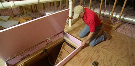 Painting A Vanity Top by Diy Fold Down Attic Stair Insulation Today S Homeowner