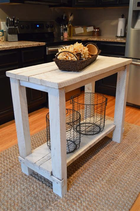 kitchen island rustic 15 gorgeous diy kitchen islands for every budget