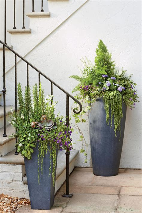 Blumenkübel Bepflanzen Vorschläge gro 223 e blumenk 252 bel bepflanzen 60 ideen bilder und vorschl 228 ge