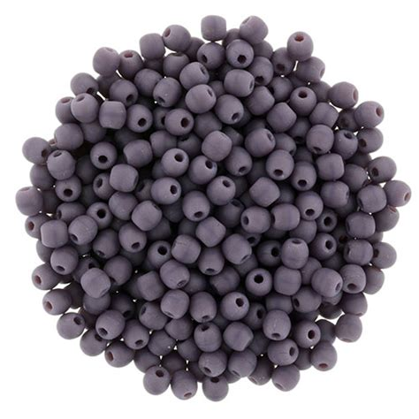 bead catalogs 2mm matte opaque purple starman