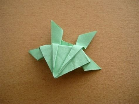 hopping frog origami origami jumping frog 183 how to fold an origami animal