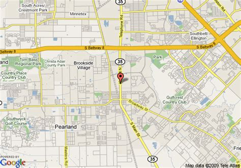 pearland tx map of best western pearland inn pearland