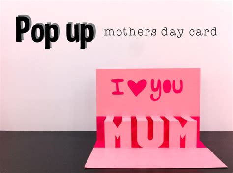 How To Pop Up Mothers Day Card Crafted