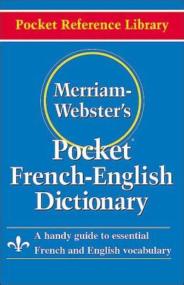 merriam webster s pocket dictionary paperback pocket reference library and edition merriam webster s pocket dictionary by