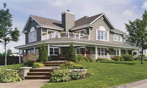 homes with wrap around porches country home house plans with porches country house wrap