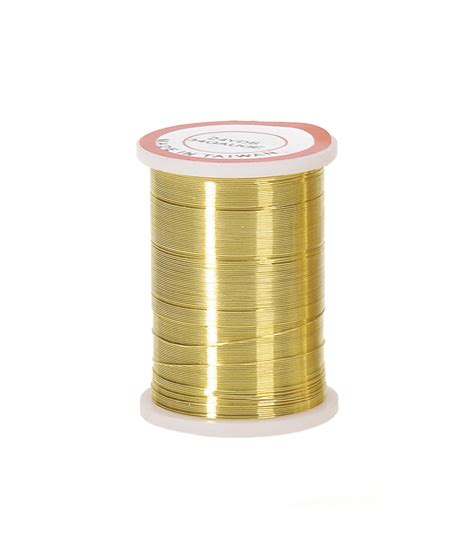 24 beading wire 34 gold beading wire 24 yards jo