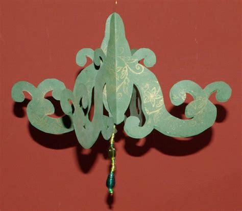 paper chandelier decorations 3d paper chandelier decoration tutorial