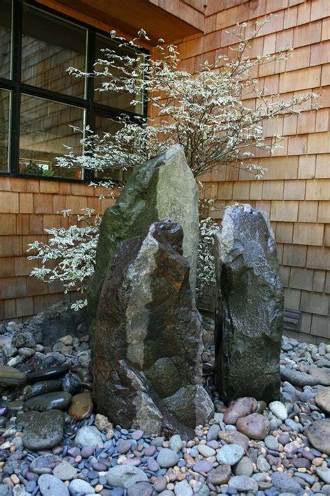 rock garden features 25 best ideas about japanese rock garden on