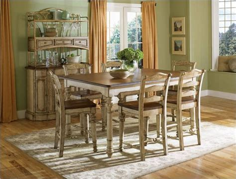 antique kitchen table sets broyhill everyday dining continents counter table set in