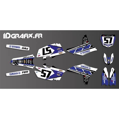 kit decoration yamaha 60th replica edition yamaha yz yzf