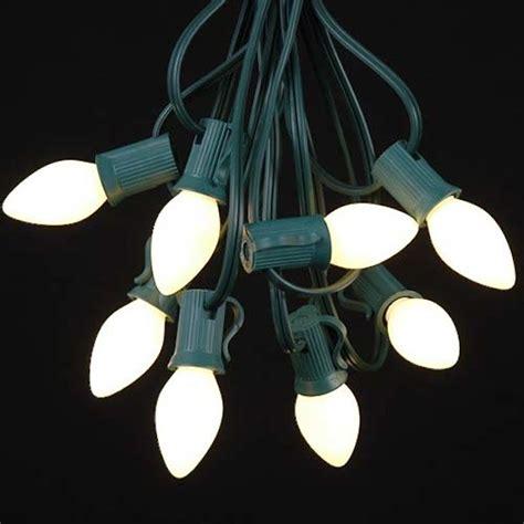 c7 white lights white ceramic c7 outdoor string lights gardenista