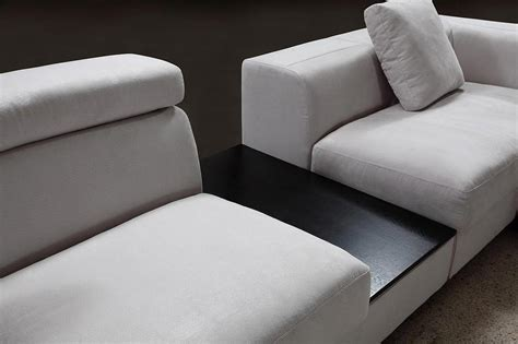 grey microfiber sofa modern sectional sofa grey microfiber vg fort 16 fabric