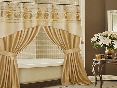 bathroom with shower curtains ideas luxury design bathroom shower curtain ideas hookless