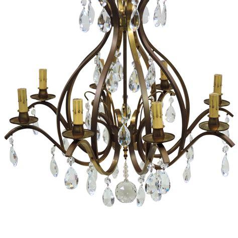 german chandeliers vintage 8 light w german chandelier brass from tolw on ruby