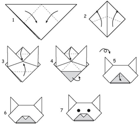 how to make an easy origami cat how to make an origami cat search crafts
