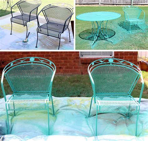 chalk paint outdoor furniture how to paint patio furniture with chalk paint 174