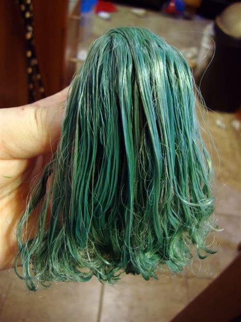 acrylic paint hair dye 22 best images about blythe hair salon on