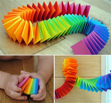 paper snake craft mollymoocrafts folded paper snake or garland mollymoocrafts