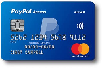 how to make a paypal card paypal access card upgrade paypal uk