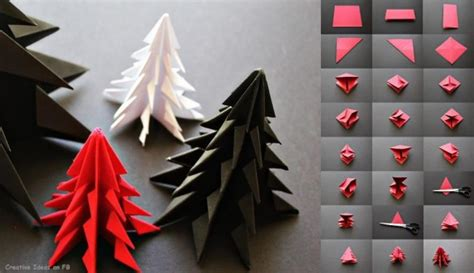 simple origami decorations do it yourself tutorials trees decorations