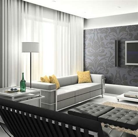 Ceiling Ideas For Bedroom look how the curtain rods are hidden by the gypsum ceiling