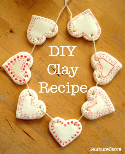 how to make clay for crafts diy clay bunting nurturestore