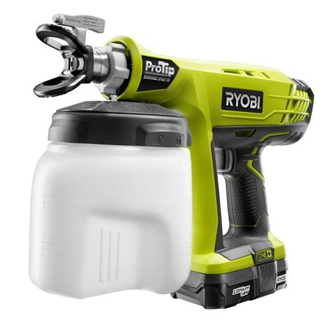 home depot paint sprayer sale paint sprayers ryobi paint sprayers 18 volt one protip