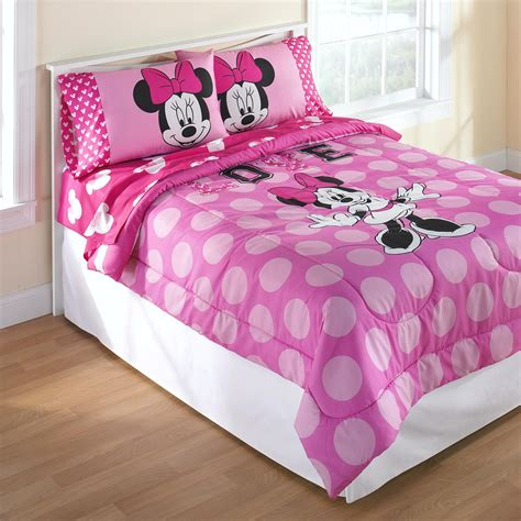 minnie mouse bedding sets disney minnie mouse comforter shop your way