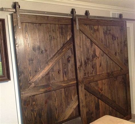 bypass closet door track best 25 bypass barn door hardware ideas on