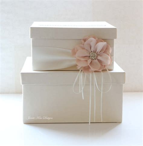 how to make gift card boxes for weddings wedding card box wedding money box gift card box custom made