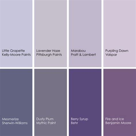 shades of purple paint shades of purple colors
