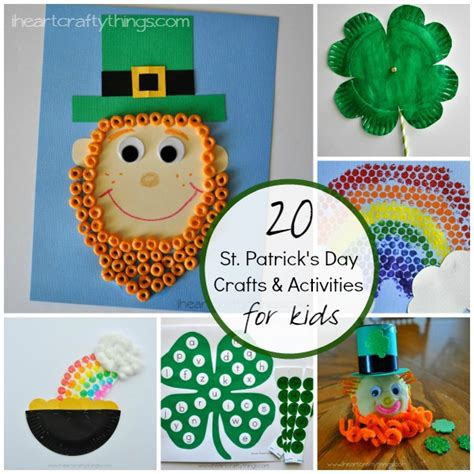 st patricks day kid crafts 20 st s day crafts and activities for i