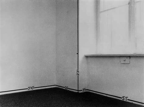 room measurements measurement room 1969 heiner friedrich gallery mel bochner