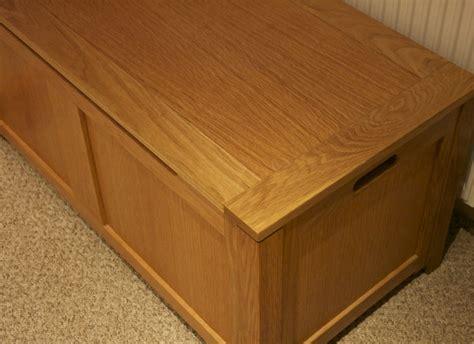 bespoke woodwork large oak box ottoman chapman bespoke woodwork