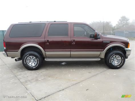 2001 Ford Excursion by Chestnut Metallic 2001 Ford Excursion Limited 4x4 Exterior