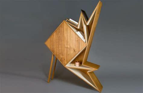 furniture origami origami inspired cabinets origami furniture