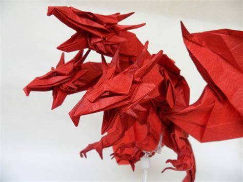 three headed origami 10 more amazing origami dragons epic fail