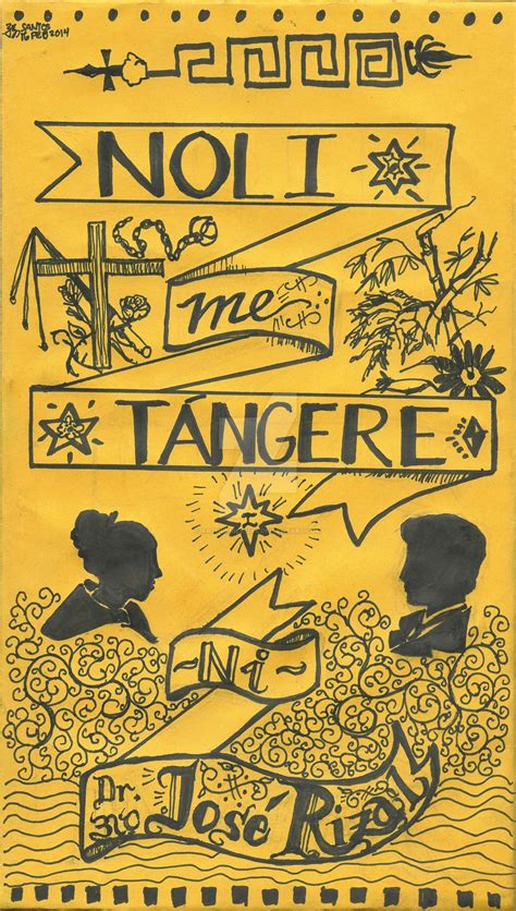 picture of noli me tangere book noli me tangere cover remixed by arthuriglesias on deviantart
