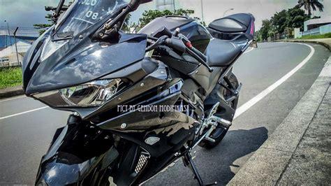 Modification Motor Vixion 2015 by Modifikasi New Vixion 2015 Jadi Yamaha Yzf R25 Keren Banget